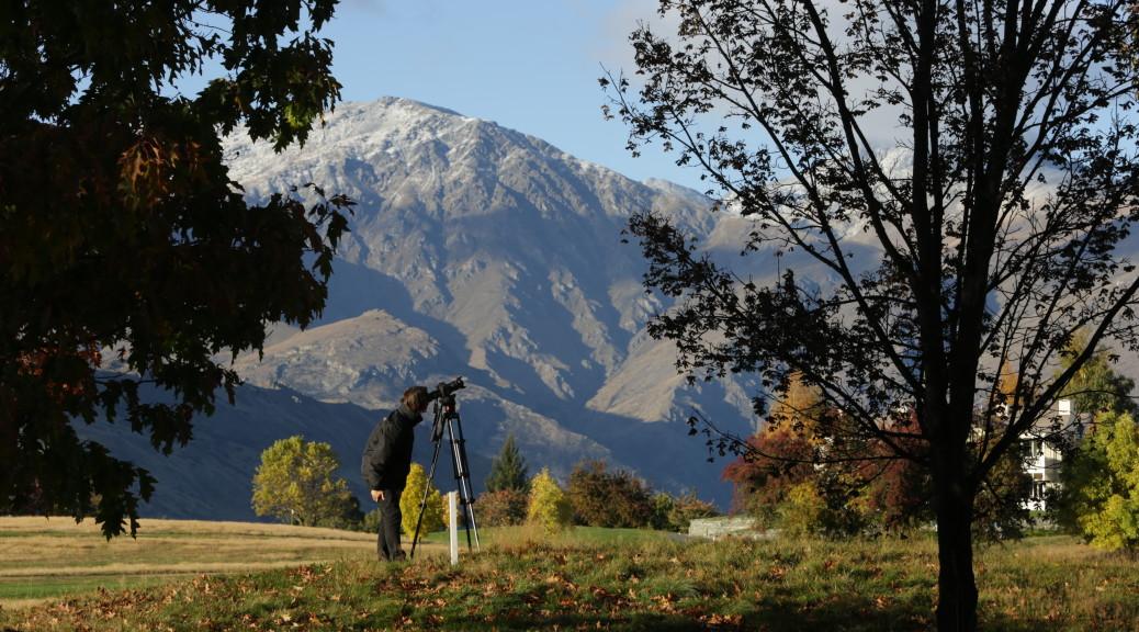 James Holman Filming