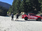 Doing a recce for the Shotover Jet Commercial. James Holman Film, Queenstown, Video Production. Camera Operator, Editor, Cinematographer.