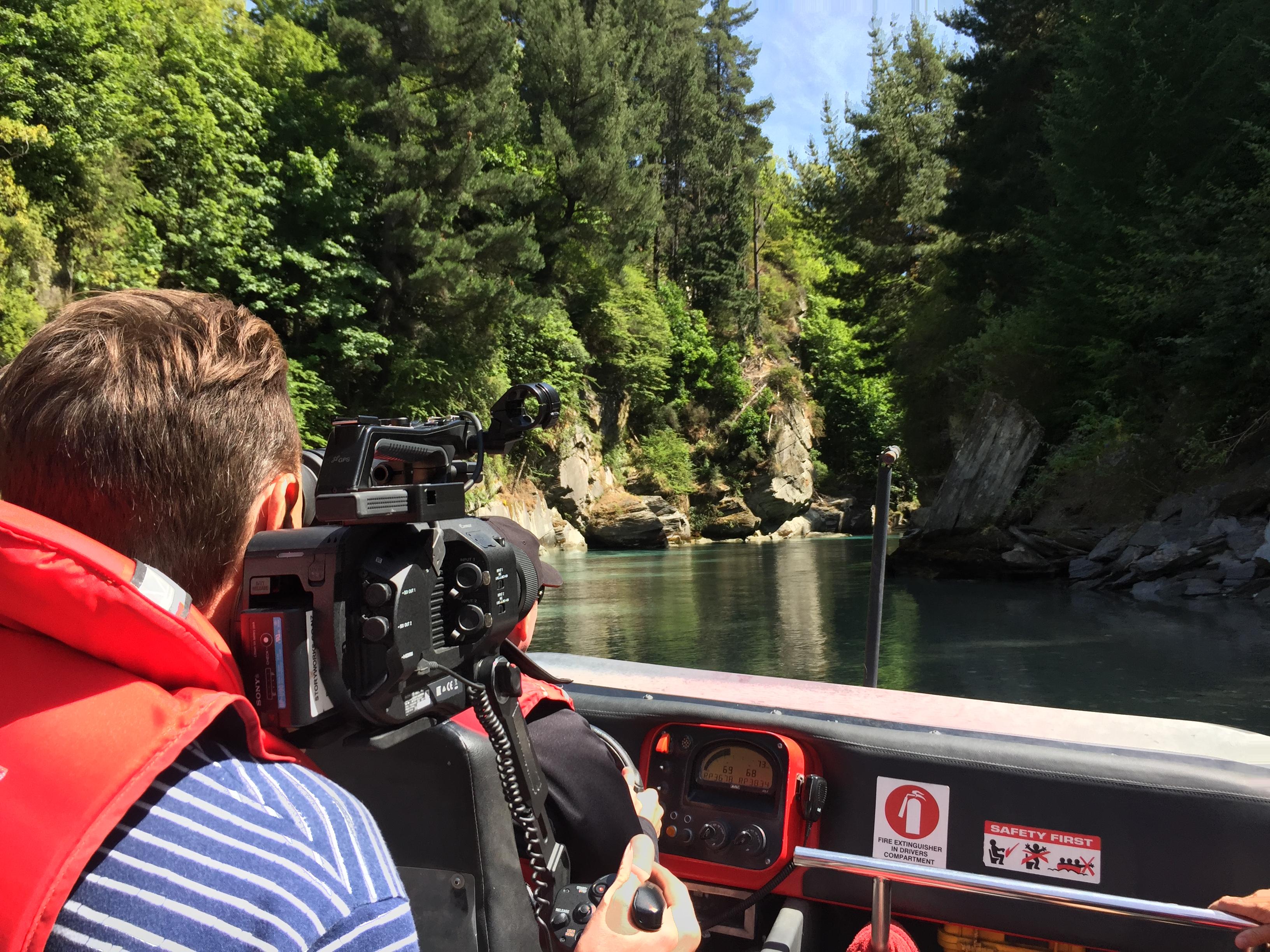 James Holman Film, Queenstown, Video Production. Camera Operator, Editor, Cinematographer.