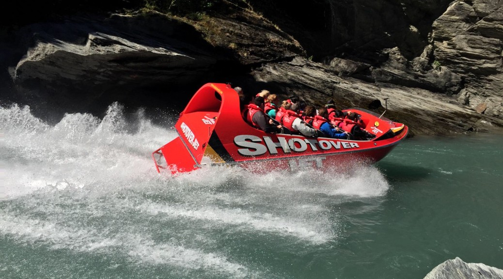 James Holman directed the new Shotover Jet Commercial. Queenstown, video production.